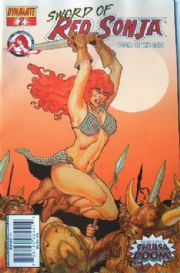 Red Sonja Doom of the Gods #2 Cover B